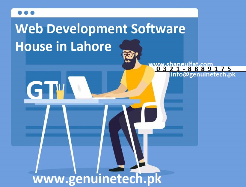web development software house in lahore